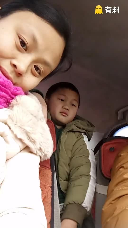 2017年正月某天,四川省绵阳市某地路上