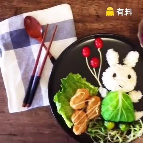 兔兔那么可爱 怎么可以吃兔兔#