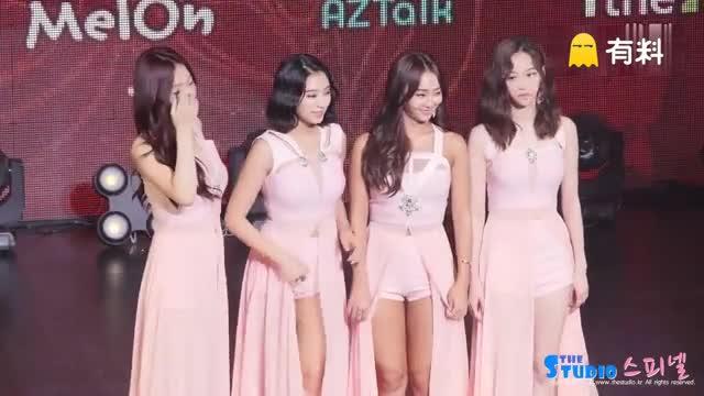 160621 韩国女子组合 Sistar 回归 Showcase 团体拍照时间