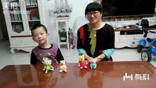 《三只小猪》剧情1 表演者:希希和希希妈妈