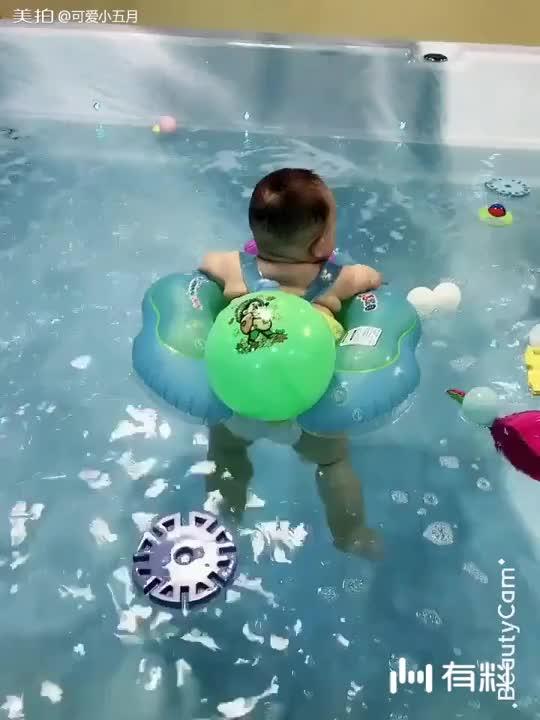 美拍视频: 游泳记
